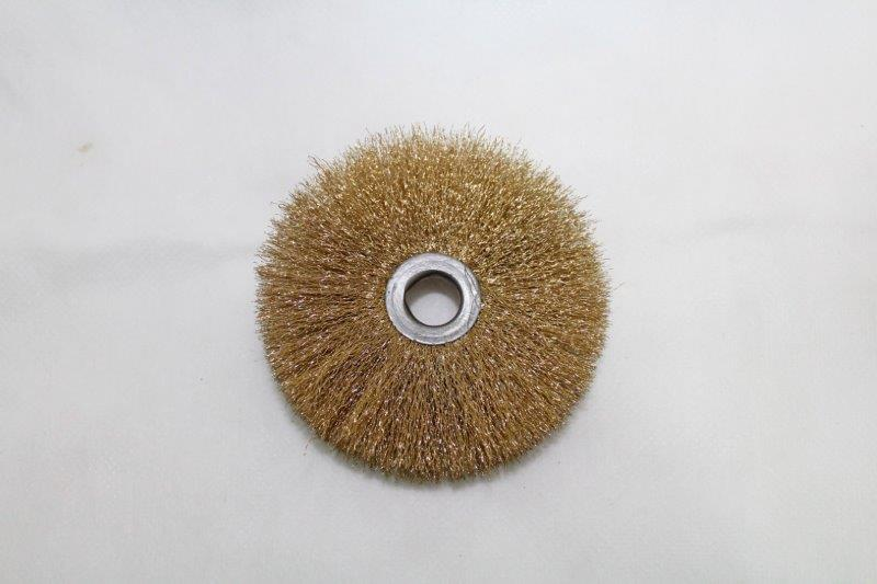 Escova circular latonada